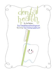 CUTE dental health unit (free!!)
