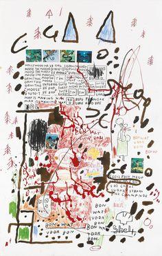 Untitled, Jean-Michel Basquiat, 1998