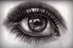 really pretty eye drawing