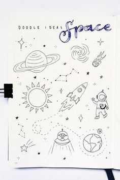 Check out these super fun bullet journal doodle ideas for next time you're decorating! 👾 journal inspiration doodles Bullet Journal Doodle Inspiration For Bujo Addicts - Crazy Laura Bullet Journal Aesthetic, Bullet Journal Writing, Bullet Journal Ideas Pages, Bullet Journal Inspiration, Bullet Journal Decoration, Diary Decoration, Journal Prompts, Easy Doodles Drawings, Easy Doodle Art