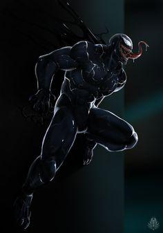 Big loving family :D Venom Spiderman, Black Spiderman, Marvel Venom, Spiderman Art, Amazing Spiderman, Marvel Art, Deadpool Wallpaper, Man Wallpaper, Venom Pictures