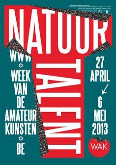 """""""Natuur talent"""" (2013) by Groep Jan & Randoald (Belgium-Belgique)"""