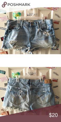 Destroyed Hollister Shorts . Hollister Shorts Jean Shorts