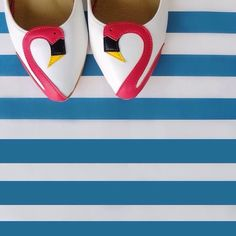 Slip into happy flamingo and sing along!!! #madameflamingo