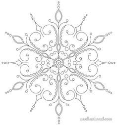 Evolution of an Embroidery Pattern – Needle'nThread.com