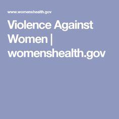 Violence Against Women | womenshealth.gov