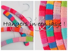Tutorial for crocheting covers for wooden hangers.  Pretty, pretty!