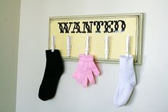 lost laundry room items catch all - so cute!