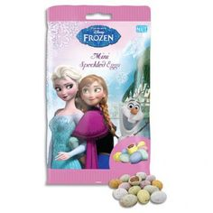 Frozen Speckled Eggs 150g #PoundlandEaster We'll decorate the cup cakes with some of these mini eggs