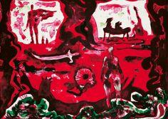 Håkon Bleken - Ejlert Løvborg lander Hakone, Edvard Munch, Color Pallets, Art Museum, Contemporary Art, Sketches, Fine Art, Drawings, Illustration