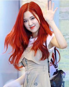 She looks like really Sun-hi from Make it pop 💕🥀 Foto Rose, Blackpink Members, Peinados Pin Up, Rose Park, Kim Jisoo, Blackpink Photos, Blackpink Fashion, Park Chaeyoung, Hair A