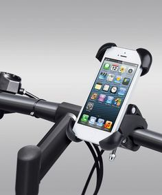 {Black Universal Smartphone Bike Mount by Merkury Innovations} I need one of these.