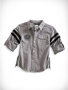 Baby Girl Jeans, Boys Wear, Boys Shirts, Denim Shirt, Casual Shirts For Men, Boy Fashion, Boy Outfits, Shirt Designs, Younique