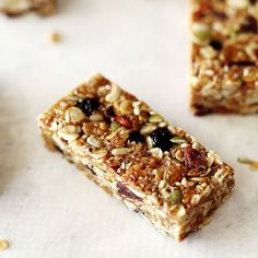 No Bake Muesli Bars for School Lunchboxes | Kids Eat by Shanai