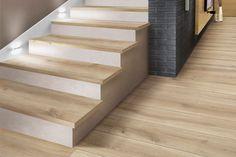 carrelage effet parquet - Recherche Google Wood Look Tile, Tiles, Stairs, Ceramics, More, Recherche Google, Design, Home Decor, Inspiration