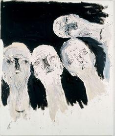 """Georg Baselitz    """"Oberon (Remix)""""    Oil on canvas    2005"""