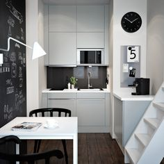 Kitchen Ideas For Small Space apartment-design-by-erges | interior design | pinterest | small