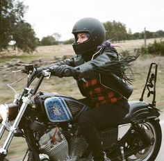 "Malary L. - ""Two wheels ignited a hunger to explore a world outside my hometown in the midwest. After customizing my H-D to make it my own, I set my sights on the Southwest."" 
