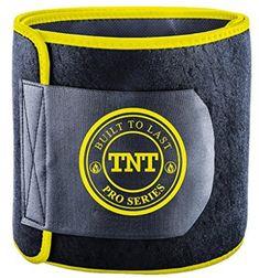 TNT Pro Series Waist Trimmer Weight Loss Ab Belt - Premium Stomach Fat Burner Wrap and Waist Trainer (X-Large, Yellow) Stomach Fat Burner, Belly Fat Burner, Stubborn Belly Fat, Lose Belly Fat, Stomach Wrap, Flat Stomach, Waist Trainer For Men, Ab Belt, Sweat Belt
