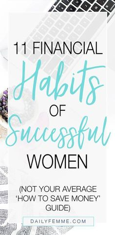 While I prefer Dave Ramsey's Debt Snowball method, the other 10 financial habits of successful women from this article are spot on! In short, you've got to be knowledgeable, aware, intentional, and disciplined!