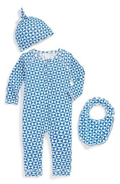 Free shipping and returns on Stem Baby Organic Cotton Romper, Cap & Bib (Baby Boys) at Nordstrom.com. Bright stripes or triangles liven up a raglan-sleeve romper that pairs with a matching cap and bib for an adorable ensemble.