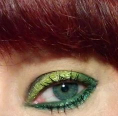 kats colourings: EOTD: Lady Sapphire Green...
