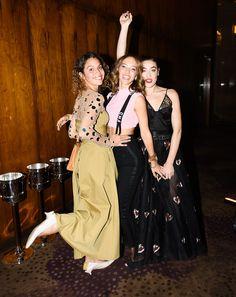 Cleo Wade, Zoe Buckman, and Mia Moretti