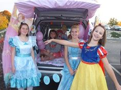 "Trunk or Treat - Princess Theme...Could maybe do ""Kings Kid"" with a Prince/Princess spin to it?"