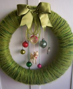 Doe+and+Yarn+Wreath+by+constantgatherer+on+Etsy