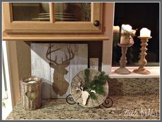 WICKER CHARGER WITH DEER HEAD AND GREENERY...SO CUTE!!!   Hello Lovelies, I am so glad you are here  to take my Christmas Tour today.  I am part of a Christmas Blog Hop, so please make  sure to ...