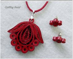 12 Awesome Paper Quilling Jewelry Designs To Start Today – Quilling Techniques Quiling Earings, Paper Quilling Earrings, Neli Quilling, Quilling Paper Craft, Paper Jewelry, Paper Beads, Jewelry Crafts, Quilling Flower Designs, Paper Quilling Patterns