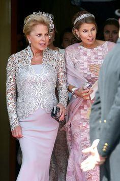 Eva O'Neill and Countess von Abensperg Natascha und Traun, June 8, 2013 | The Royal Hats Blog