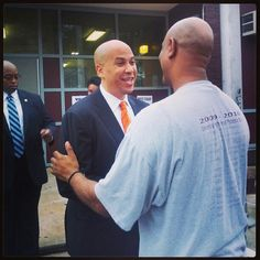 Just voted...C. Booker for Senator! Yayyyy