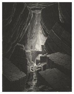 Gerard Trignac; Les villes invisibles, Sans titre 14, etching Landscape Artwork, Fantasy Landscape, Fantasy Art, Retro Illustration, Ink Illustrations, Francisco Goya, Invisible Cities, Occult Art, Futuristic Art