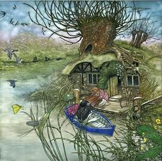 The Wind in the Willows Limited Edition Book, illustrated by Angel Dominguez