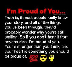 9 Best Proud Of You Quotes Images Thinking About You Thoughts