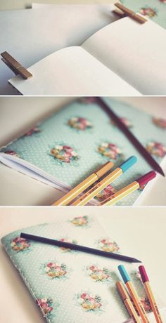 ModernismAndVintage: Tutorial libreta/notebook
