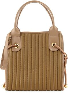 See by Chloe Sheen Quilted Leather Tote Bag, Military on shopstyle.com
