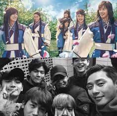 """Hwarang"" Behind story told by Ban-ryu, Do Ji-han (ft. Bromance) @ HanCinema :: The Korean Movie and Drama Database Korean Celebrities, Korean Actors, Kpop, Ban Ryu, Bride Of The Water God, Park Hyung Shik, Park Seo Joon, Weightlifting Fairy Kim Bok Joo, Hyung Sik"