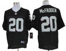 Oakland Raiders #20 Darren McFadden Elite Black Jersey