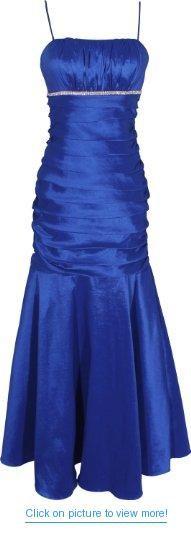 Mermaid Taffeta Long Prom Dress Formal Gown