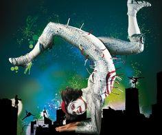 Cirque du Soleil.   ... multisala Showville di Bari per omaggiare il celebre Cirque du Soleil