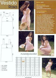 crochet dress. free pattern