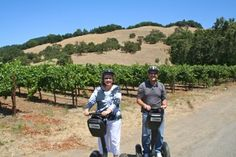How #fun!  Go wine tasting on a segway.  http://www.cheers2wine.com/segway-scooter.html #segway