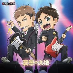 """Crunchyroll - """"Attack on Titan: Junior High"""" No Name Band to Release CD Singles"""