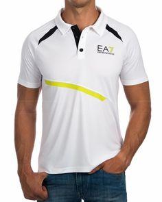 Mens Polo T Shirts, Polo Tees, Camisa Polo, Tee Design, Emporio Armani, Lacoste, Men Dress, Shirt Designs, Polo Ralph Lauren