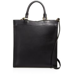 Celine Lefebure Ariane Structured Tote (910 CAD) ❤ liked on Polyvore featuring bags, handbags, tote bags, black, handbags totes, handbags tote bags, tote hand bags, structured tote handbag and structured tote bag