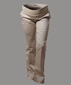 Pantalon de embarazo beige  www.2amores.com