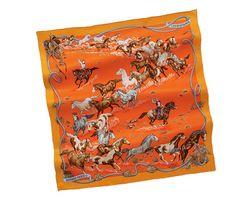 Hermes scarf 70: Les Mustangs