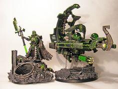 necron hq w/ command barge